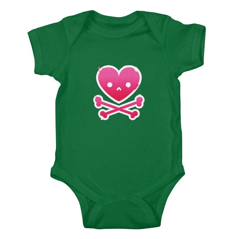 Deadly Love Kids Baby Bodysuit by zoljo's Artist Shop