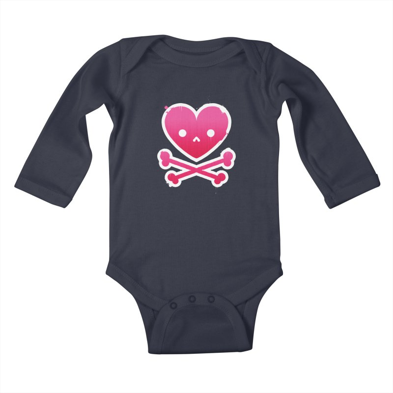 Deadly Love Kids Baby Longsleeve Bodysuit by zoljo's Artist Shop