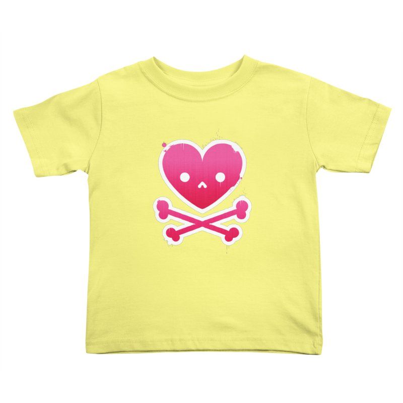 Deadly Love Kids Toddler T-Shirt by zoljo's Artist Shop