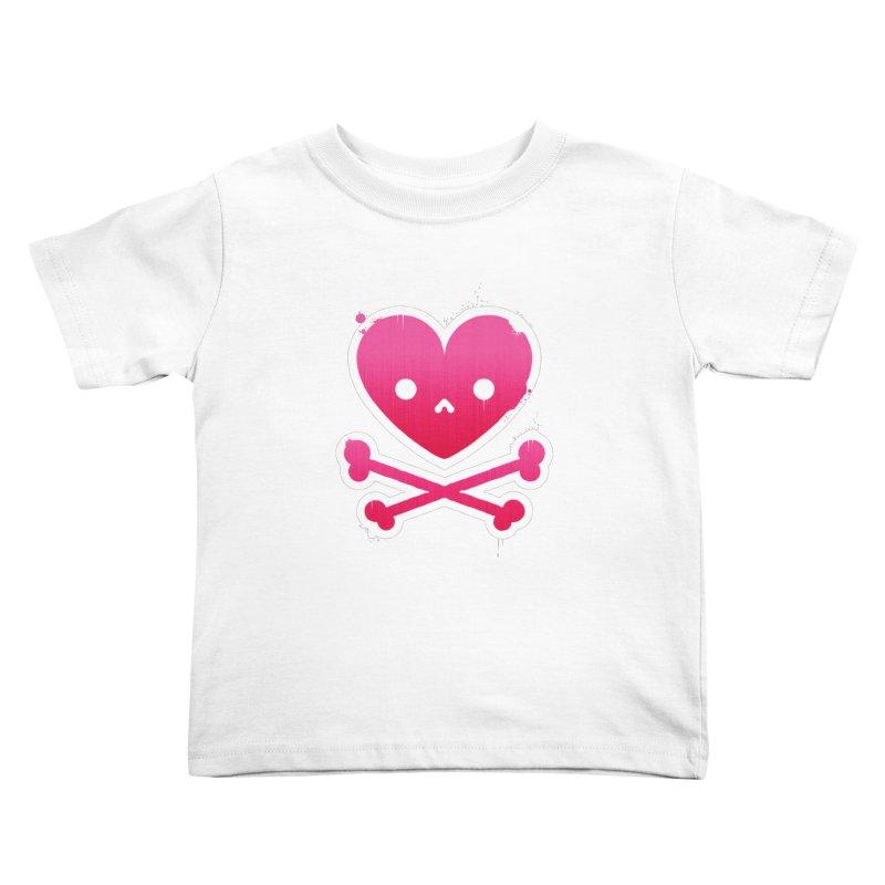 Deadly Love Kids Toddler T-Shirt by zoljo's Artist Shop