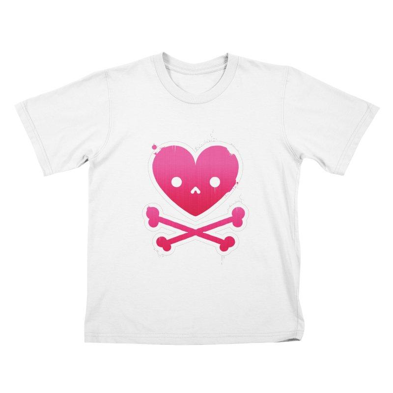 Deadly Love Kids T-shirt by zoljo's Artist Shop