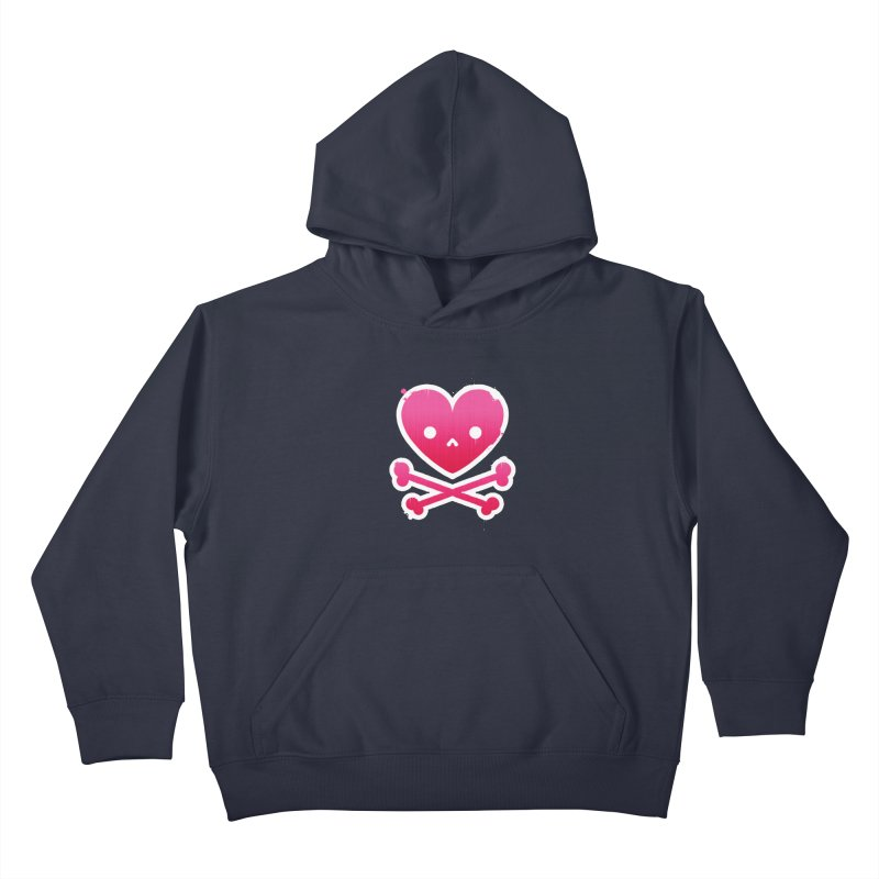 Deadly Love Kids Pullover Hoody by zoljo's Artist Shop