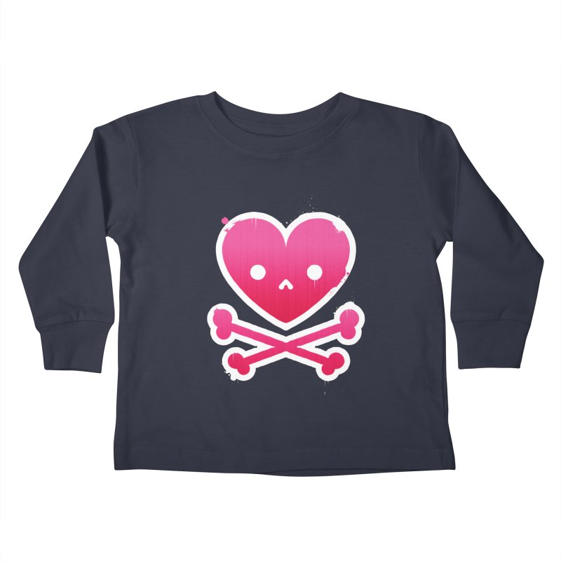 Deadly Love Kids Toddler Longsleeve T-Shirt by zoljo's Artist Shop