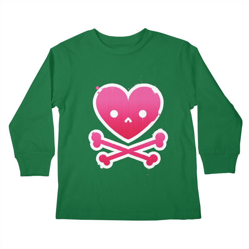 Deadly Love Kids Longsleeve T-Shirt by zoljo's Artist Shop