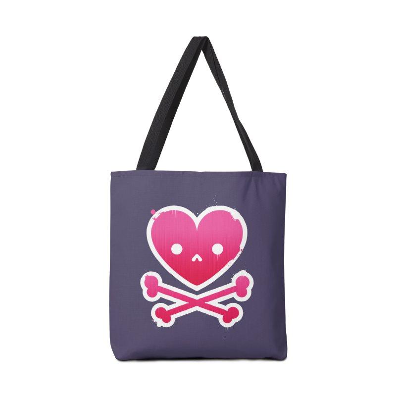 Deadly Love Accessories Bag by zoljo's Artist Shop