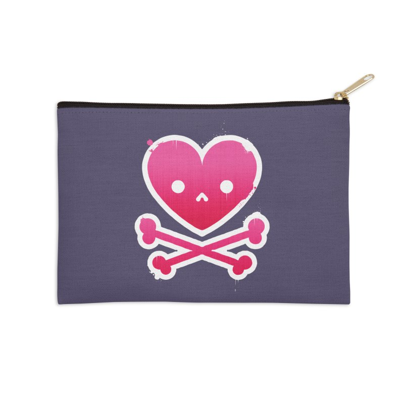 Deadly Love Accessories Zip Pouch by zoljo's Artist Shop