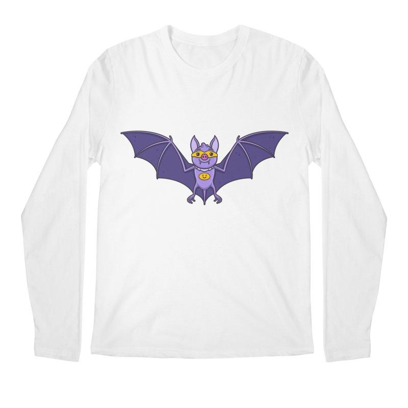 Superhero Wannabe Men's Longsleeve T-Shirt by zoljo's Artist Shop