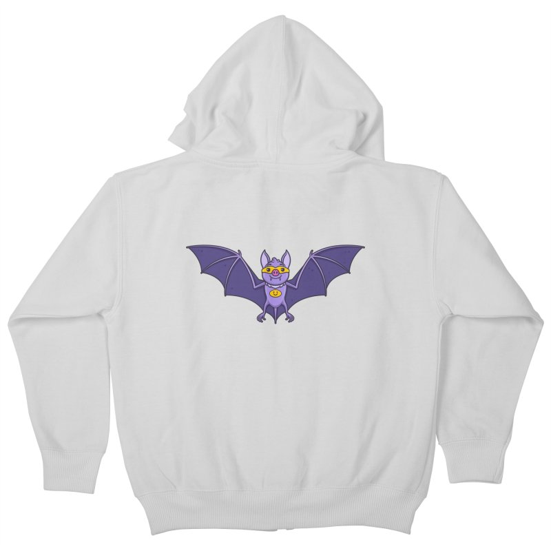 Superhero Wannabe Kids Zip-Up Hoody by zoljo's Artist Shop