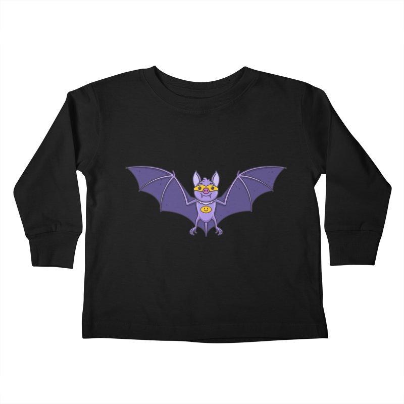 Superhero Wannabe Kids Toddler Longsleeve T-Shirt by zoljo's Artist Shop