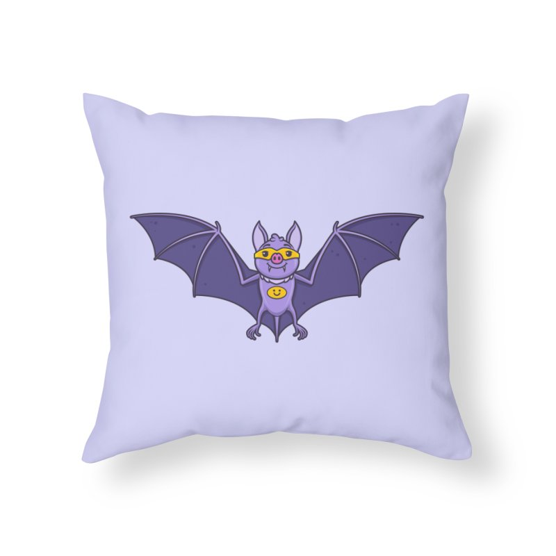 Superhero Wannabe Home Throw Pillow by zoljo's Artist Shop
