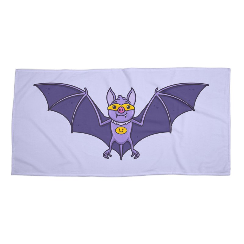 Superhero Wannabe Accessories Beach Towel by zoljo's Artist Shop