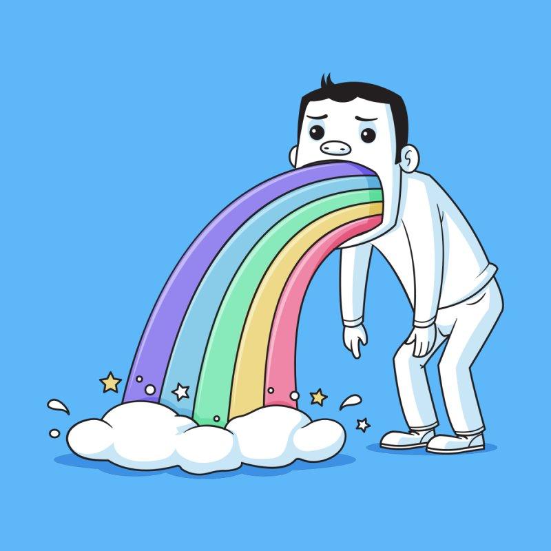 Puking Rainbow by zoljo's Artist Shop