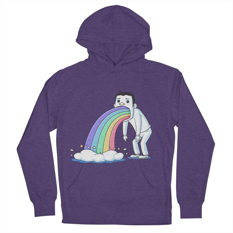 Puking Rainbow Women's Pullover Hoody by zoljo's Artist Shop