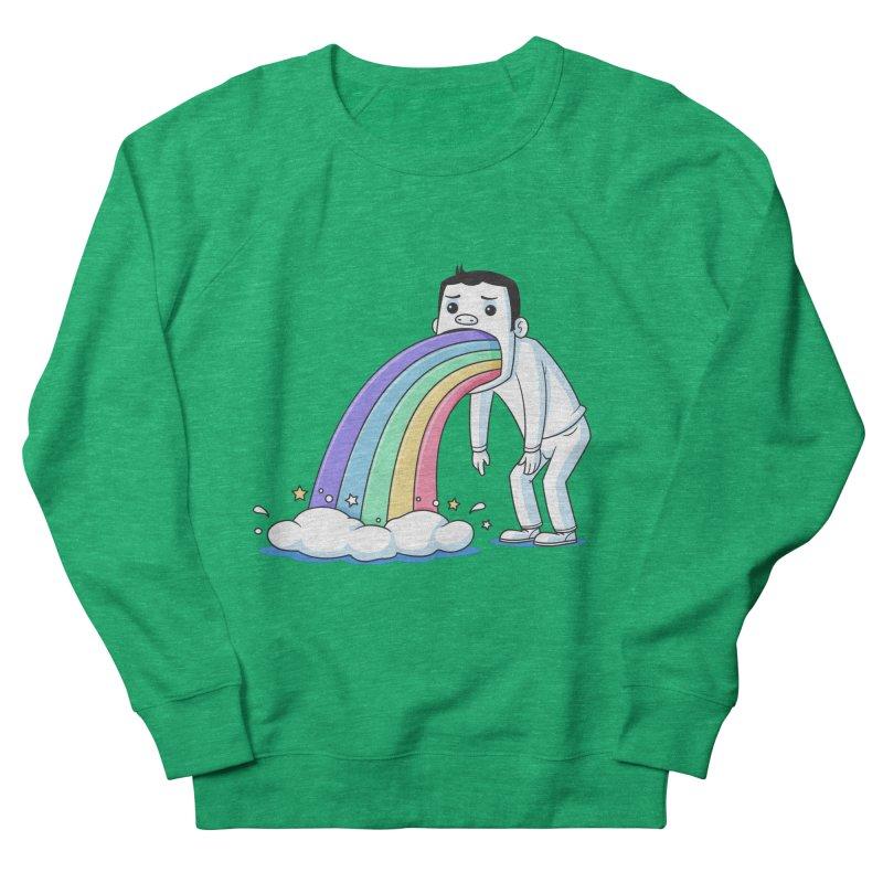 Puking Rainbow Women's Sweatshirt by zoljo's Artist Shop