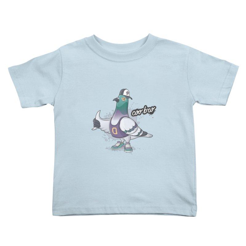 Coo' Bro Kids Toddler T-Shirt by zoljo's Artist Shop