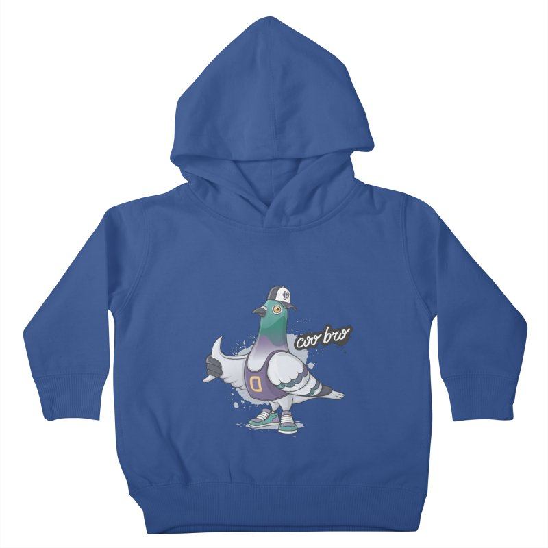 Coo' Bro Kids Toddler Pullover Hoody by zoljo's Artist Shop