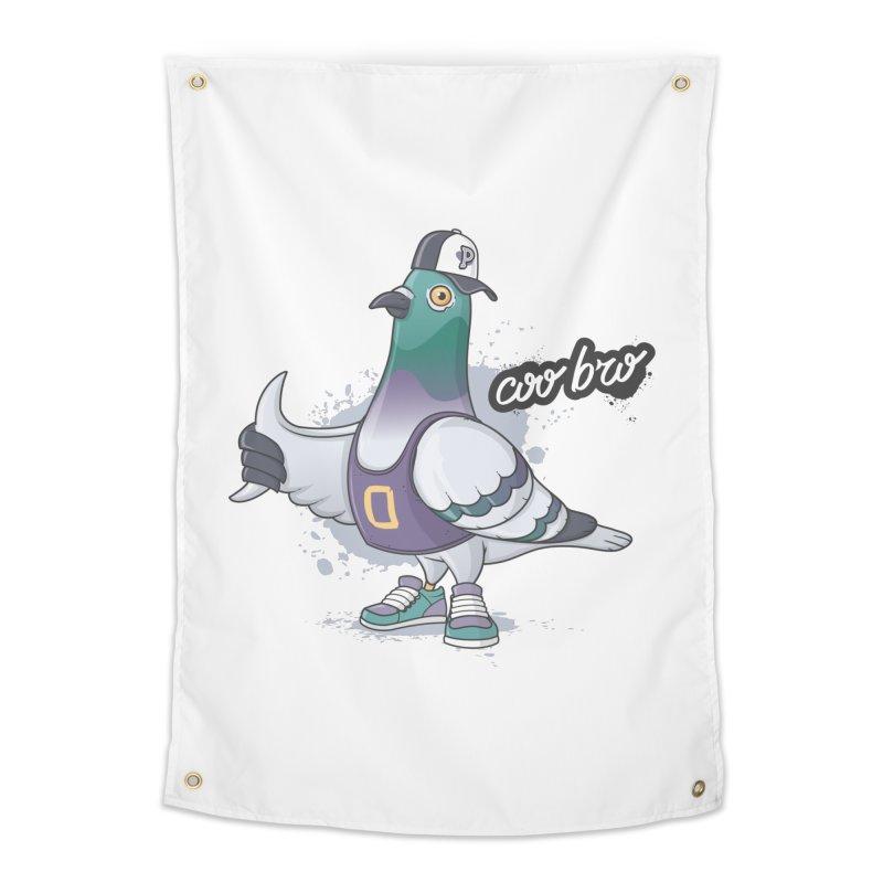 Coo' Bro Home Tapestry by zoljo's Artist Shop