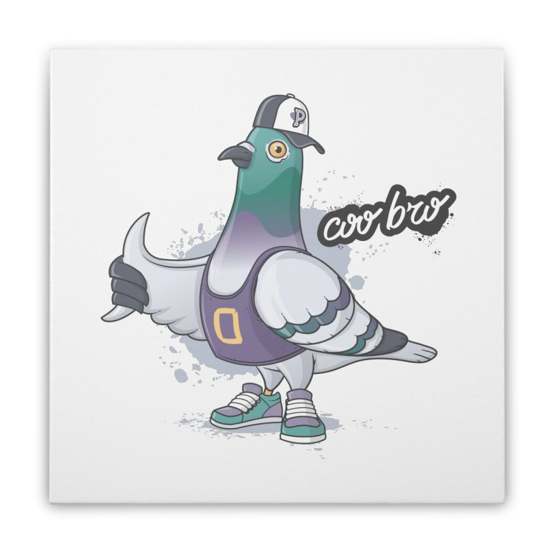 Coo' Bro Home Stretched Canvas by zoljo's Artist Shop
