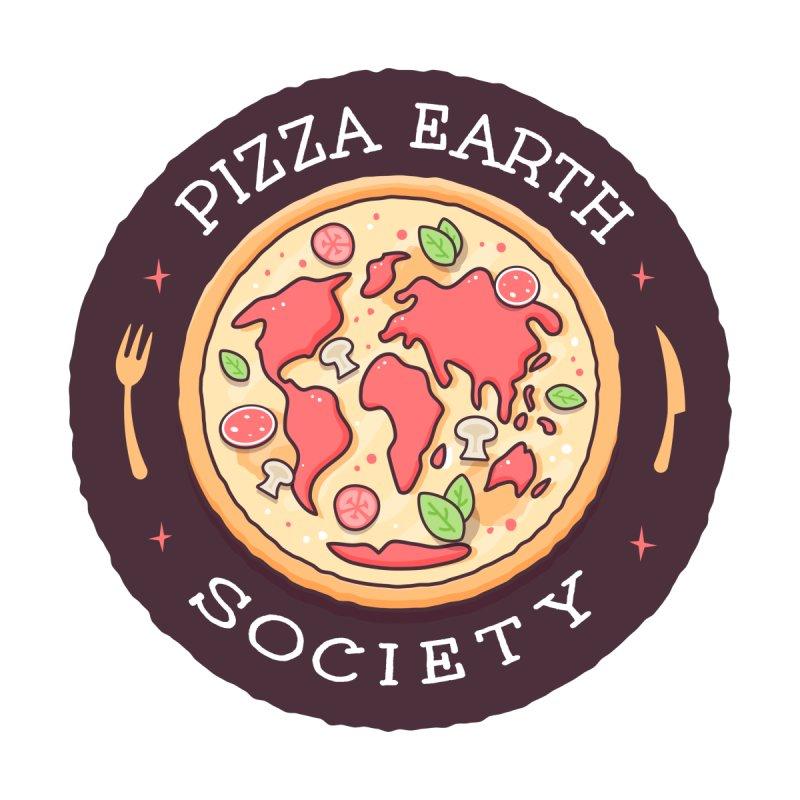 Pizza Earth Society by zoljo's Artist Shop