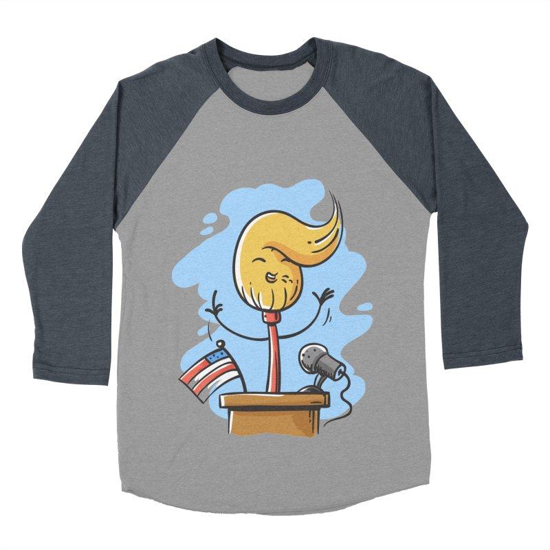 MoPolitician Men's Baseball Triblend T-Shirt by zoljo's Artist Shop