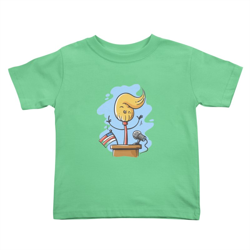 MoPolitician Kids Toddler T-Shirt by zoljo's Artist Shop