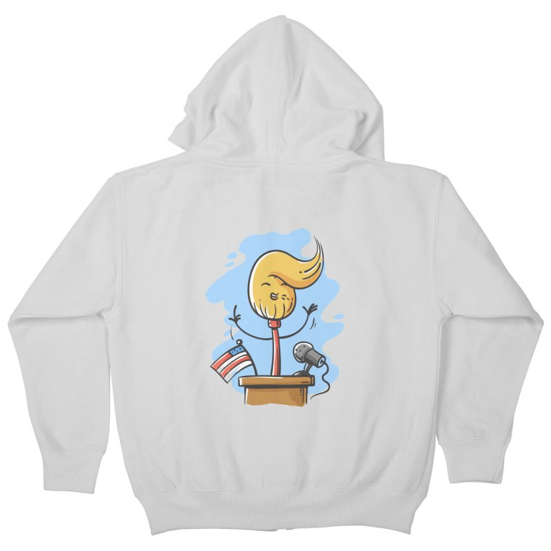 MoPolitician Kids Zip-Up Hoody by zoljo's Artist Shop