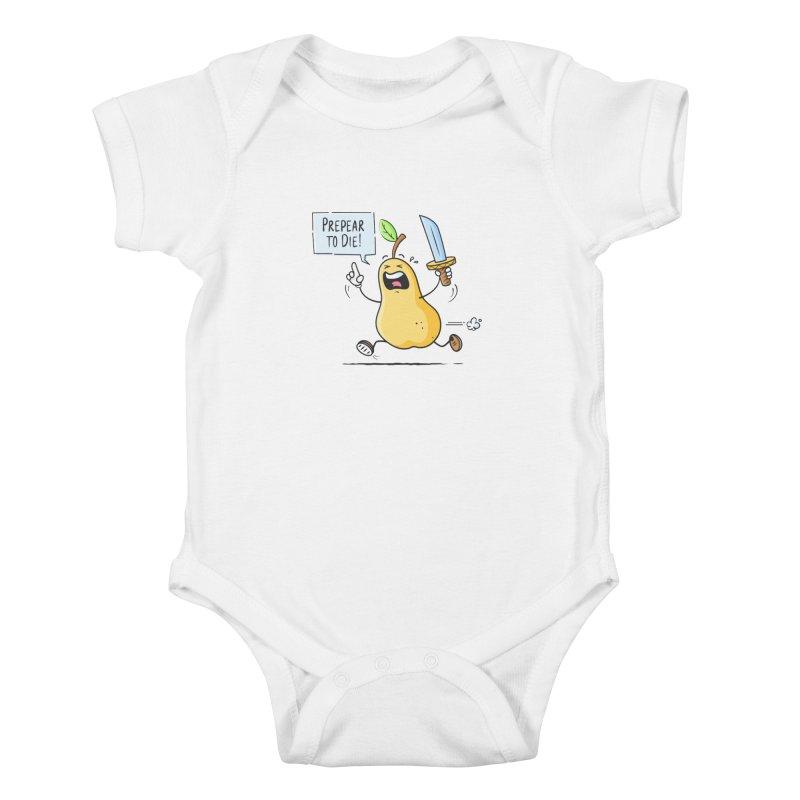 Prepear to Die Kids Baby Bodysuit by zoljo's Artist Shop