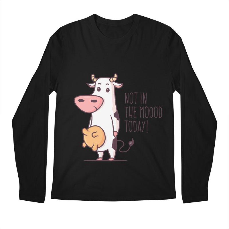 Not In The Mood Today Men's Longsleeve T-Shirt by zoljo's Artist Shop