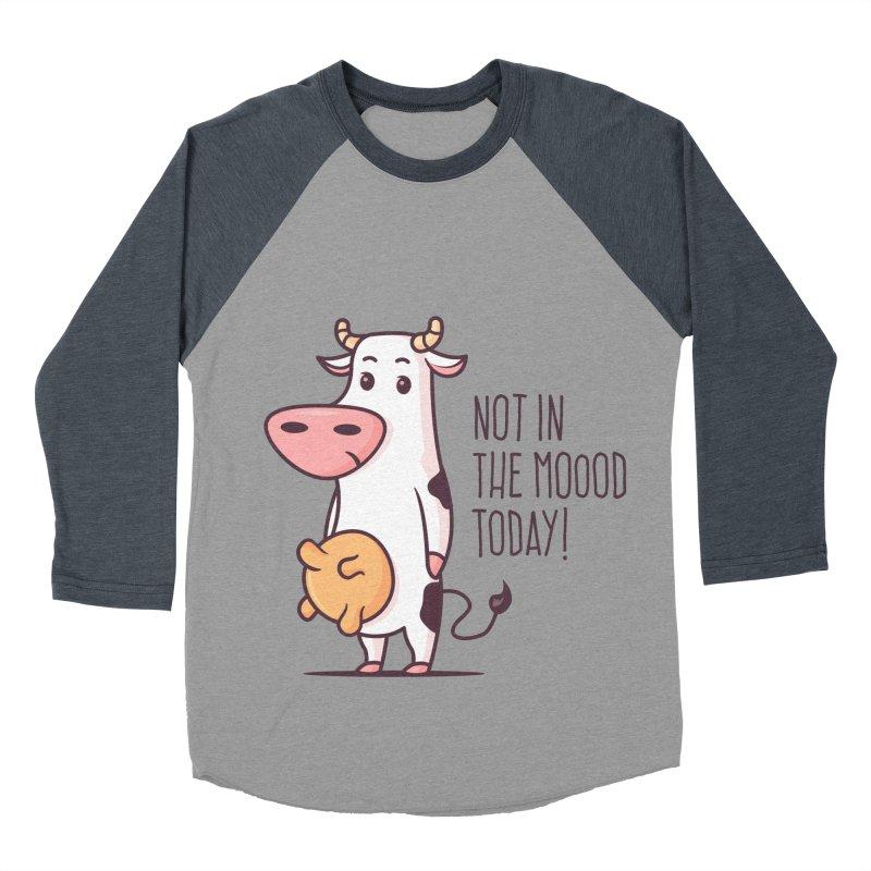 Not In The Mood Today Women's Baseball Triblend T-Shirt by zoljo's Artist Shop