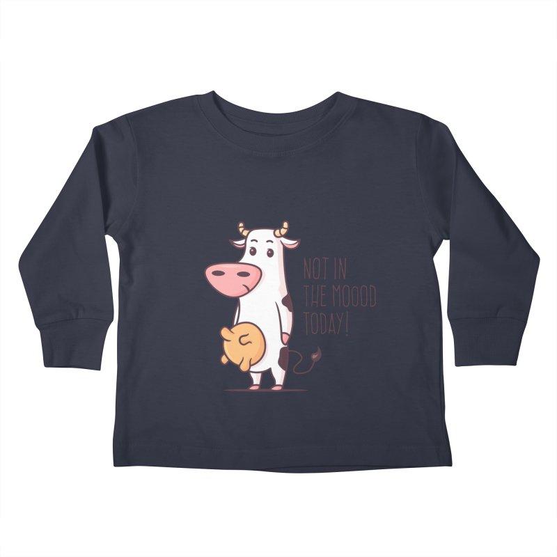 Not In The Mood Today Kids Toddler Longsleeve T-Shirt by zoljo's Artist Shop