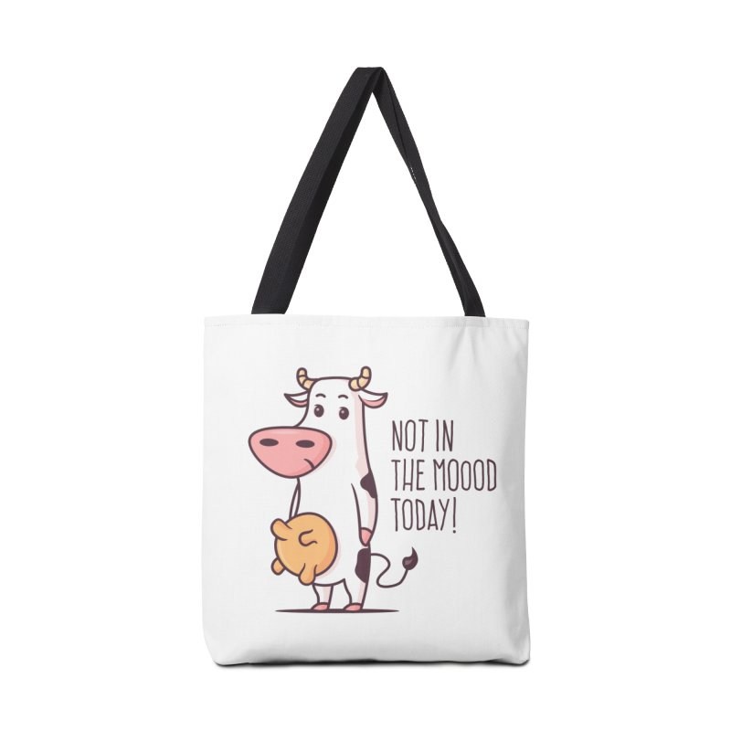 Not In The Mood Today Accessories Bag by zoljo's Artist Shop