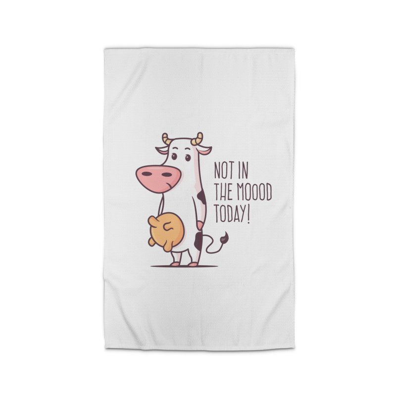 Not In The Mood Today Home Rug by zoljo's Artist Shop