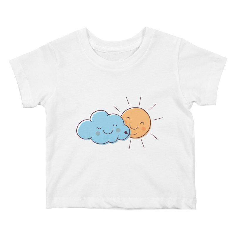 True Love Kids Baby T-Shirt by zoljo's Artist Shop