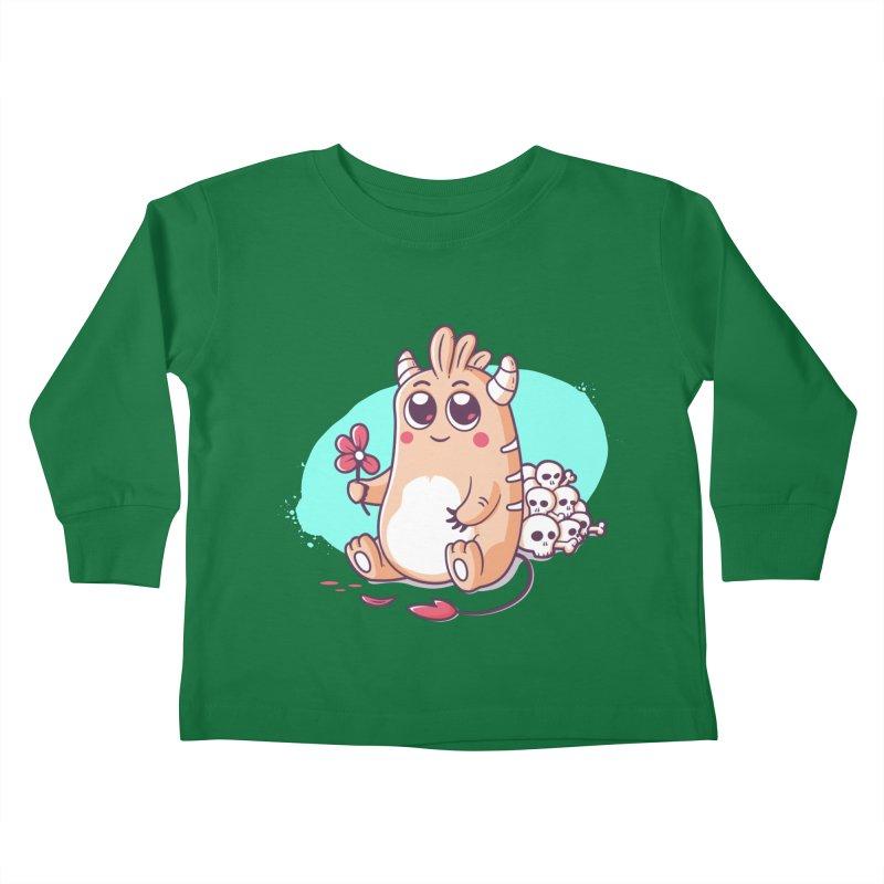 Loves Me, Loves Me Not Kids Toddler Longsleeve T-Shirt by zoljo's Artist Shop