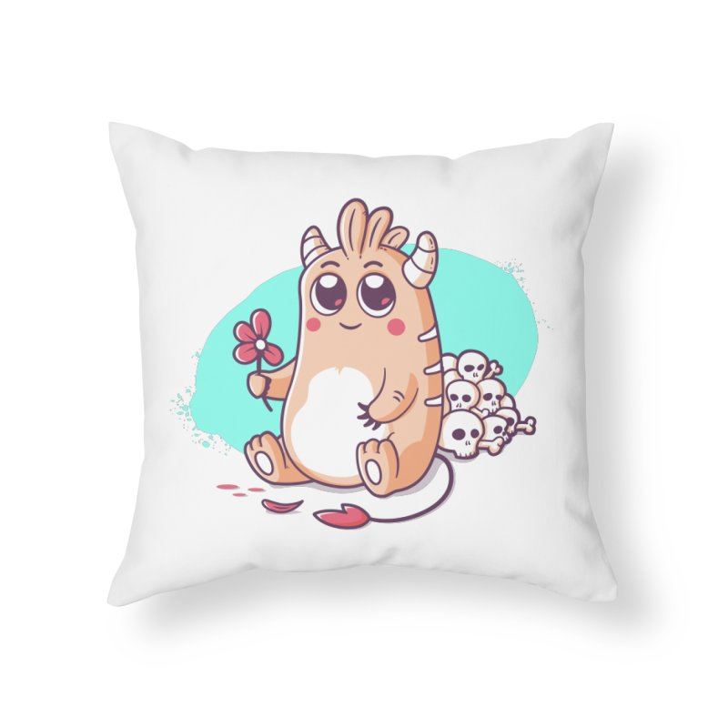 Loves Me, Loves Me Not Home Throw Pillow by zoljo's Artist Shop