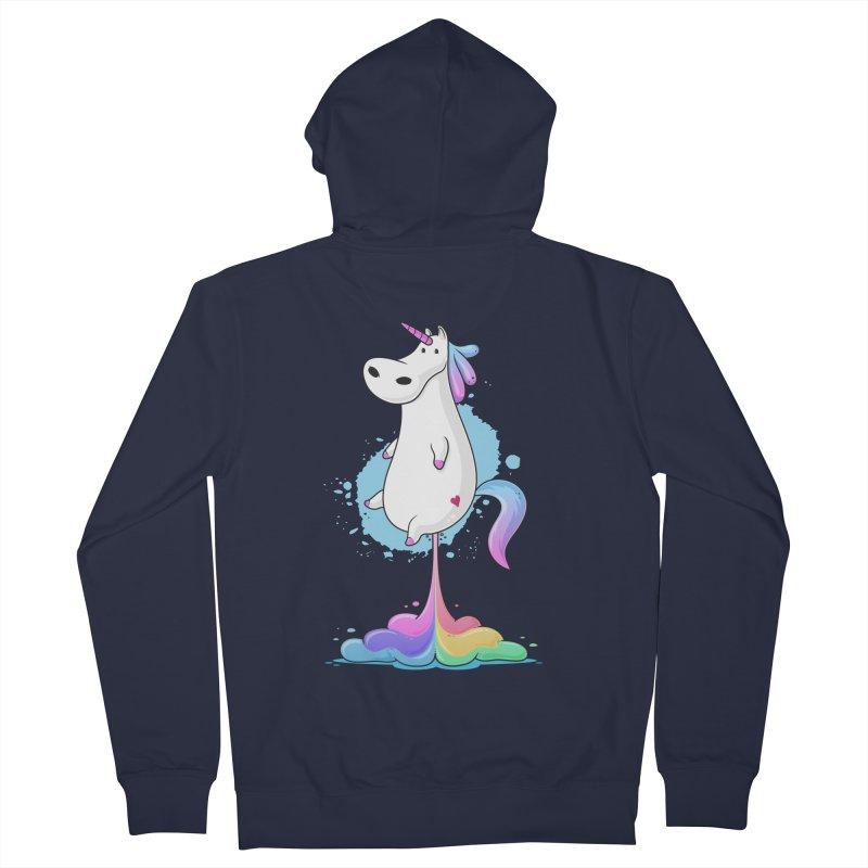 Farting Unicorn Women's Zip-Up Hoody by zoljo's Artist Shop