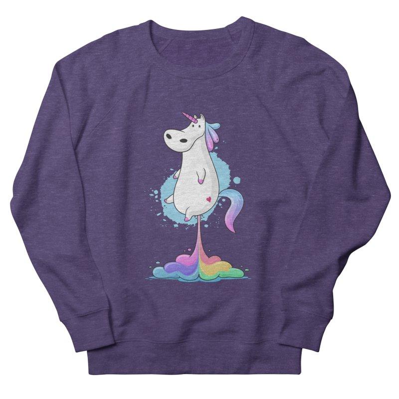 Farting Unicorn Men's Sweatshirt by zoljo's Artist Shop