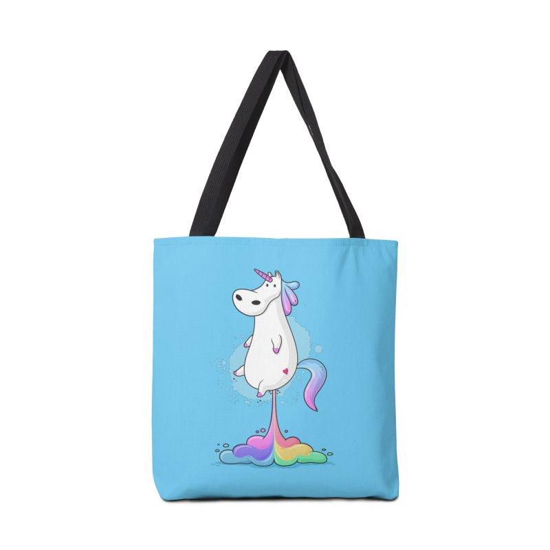 Farting Unicorn Accessories Bag by zoljo's Artist Shop