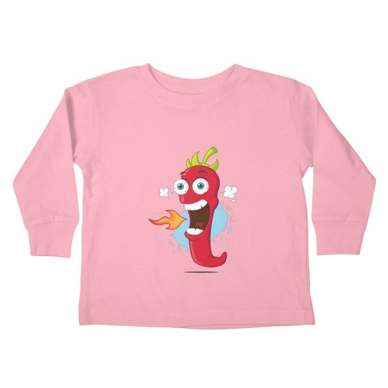 Too Hot For You Kids Toddler Longsleeve T-Shirt by zoljo's Artist Shop