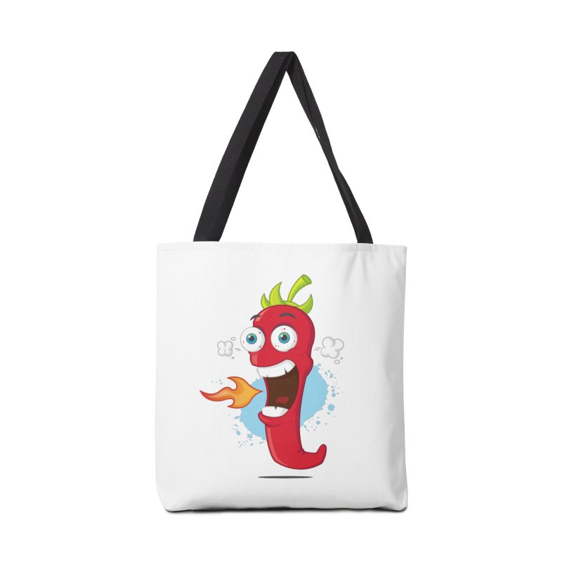 Too Hot For You Accessories Bag by zoljo's Artist Shop