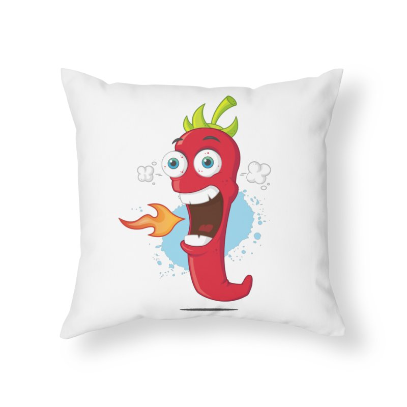 Too Hot For You Home Throw Pillow by zoljo's Artist Shop