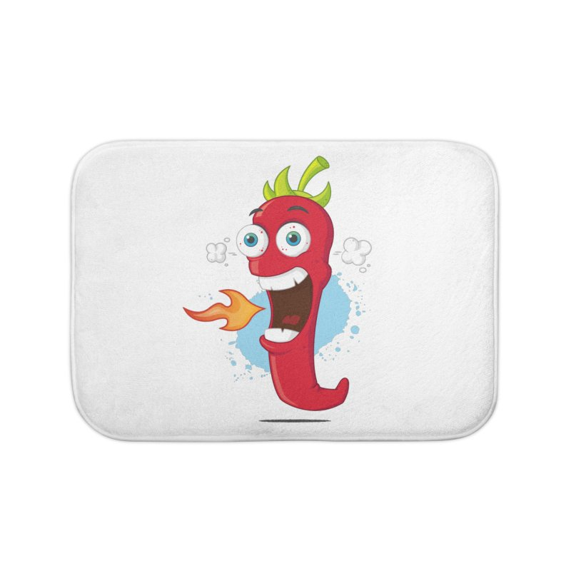 Too Hot For You Home Bath Mat by zoljo's Artist Shop