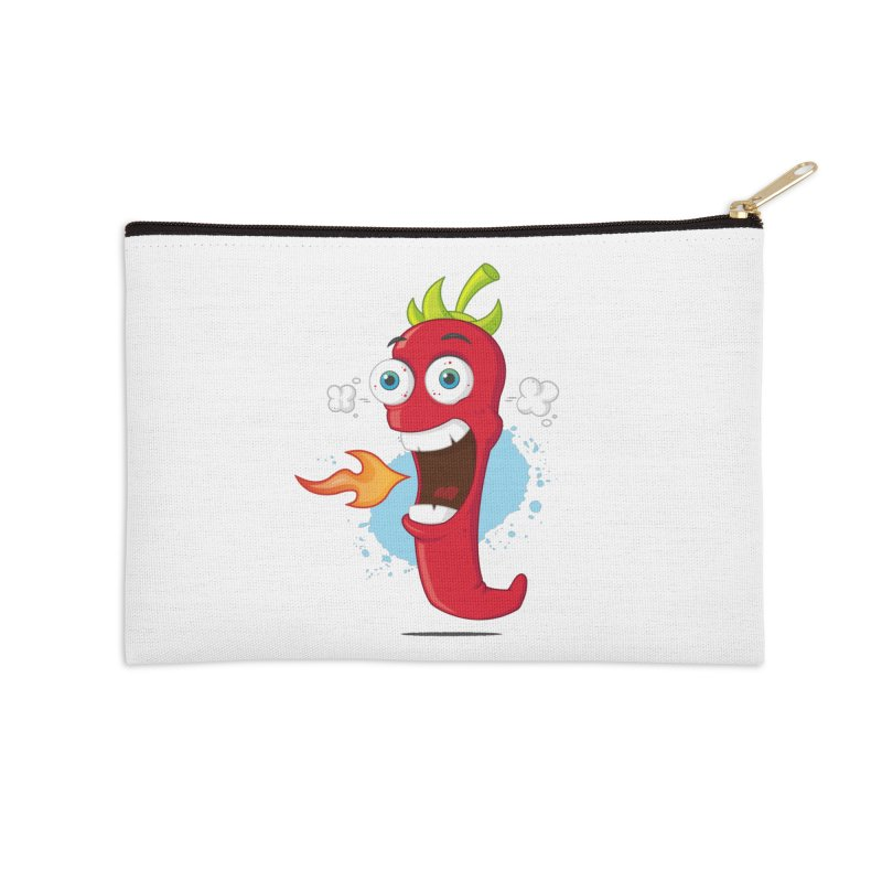 Too Hot For You Accessories Zip Pouch by zoljo's Artist Shop