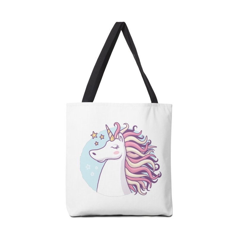 Unicorn Accessories Bag by zoljo's Artist Shop
