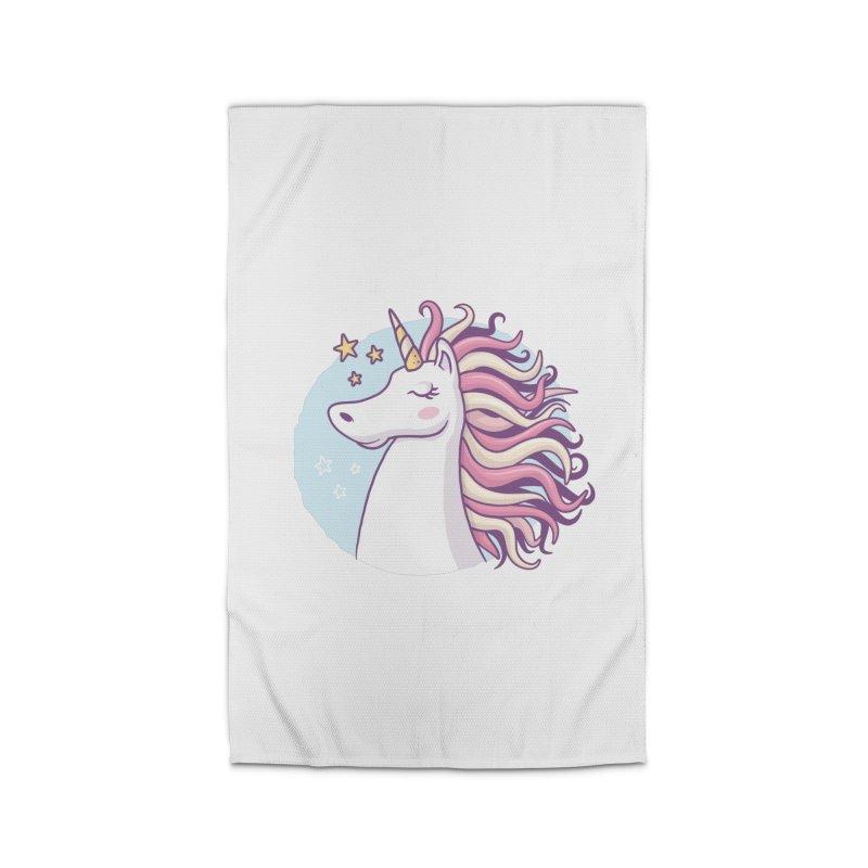 Unicorn Home Rug by zoljo's Artist Shop