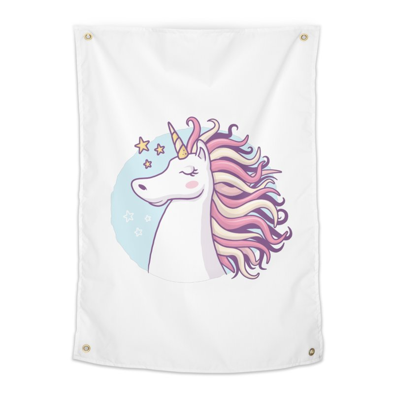 Unicorn Home Tapestry by zoljo's Artist Shop