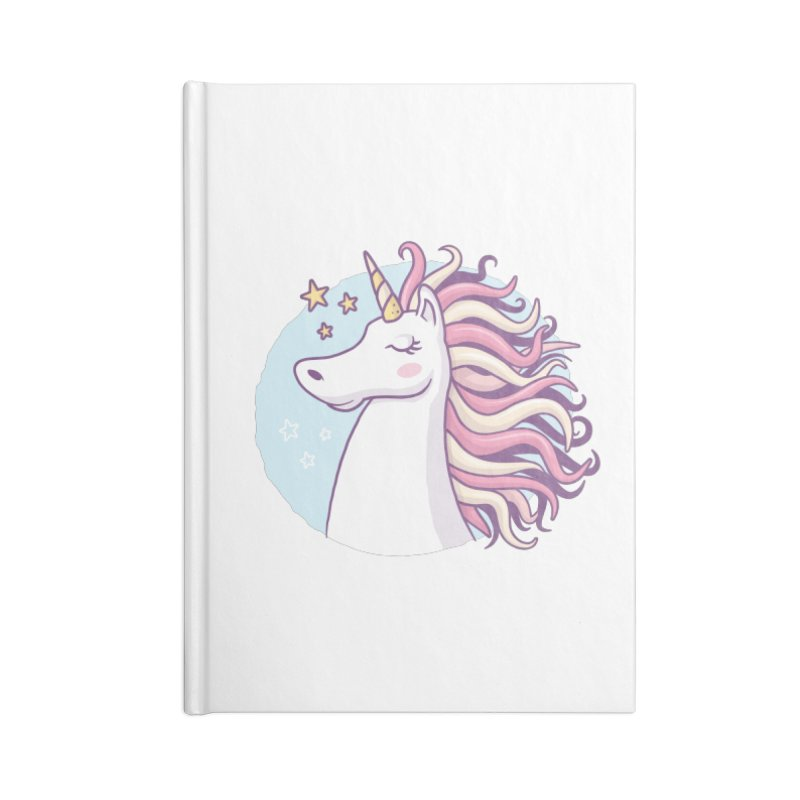 Unicorn Accessories Notebook by zoljo's Artist Shop