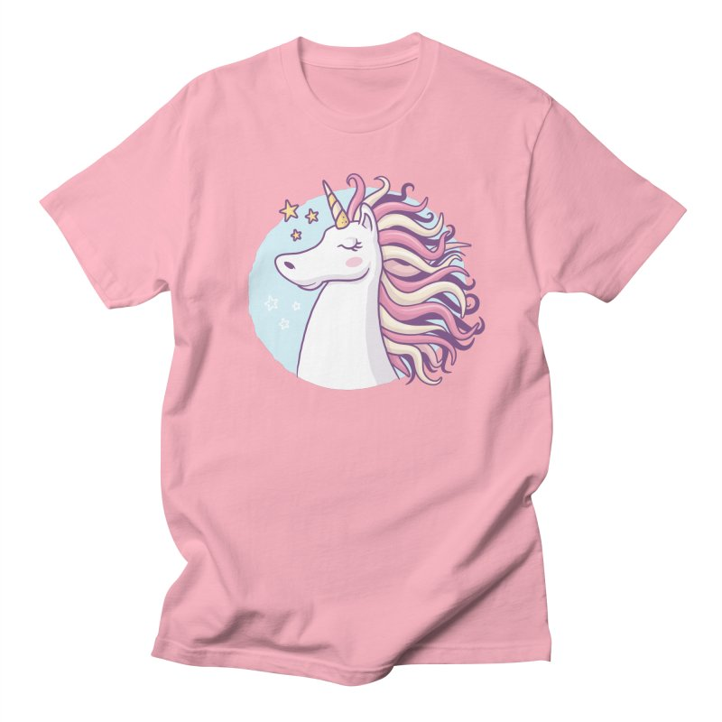Unicorn Men's T-Shirt by zoljo's Artist Shop