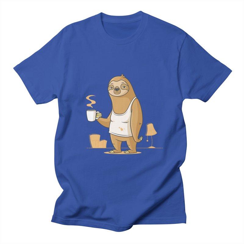 Monday Morning Depresso Men's T-Shirt by zoljo's Artist Shop
