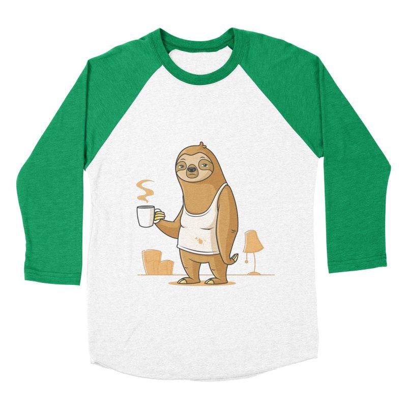 Monday Morning Depresso Women's Baseball Triblend T-Shirt by zoljo's Artist Shop